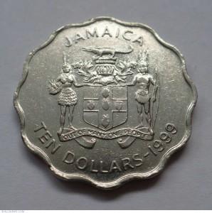 10 Dollar Jamaican Coin