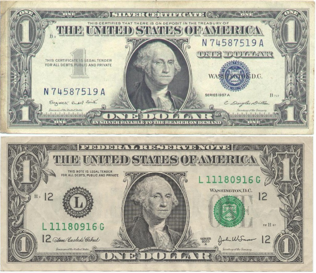 American One Dollar Comparison