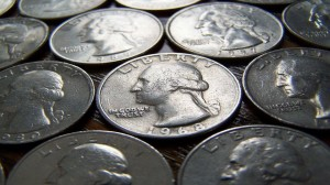 American Quarters 25 Cent Coins