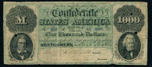 Confederate 1000 Dollars