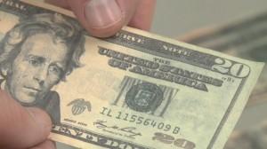 Counterfeit 20 Dollar Bill