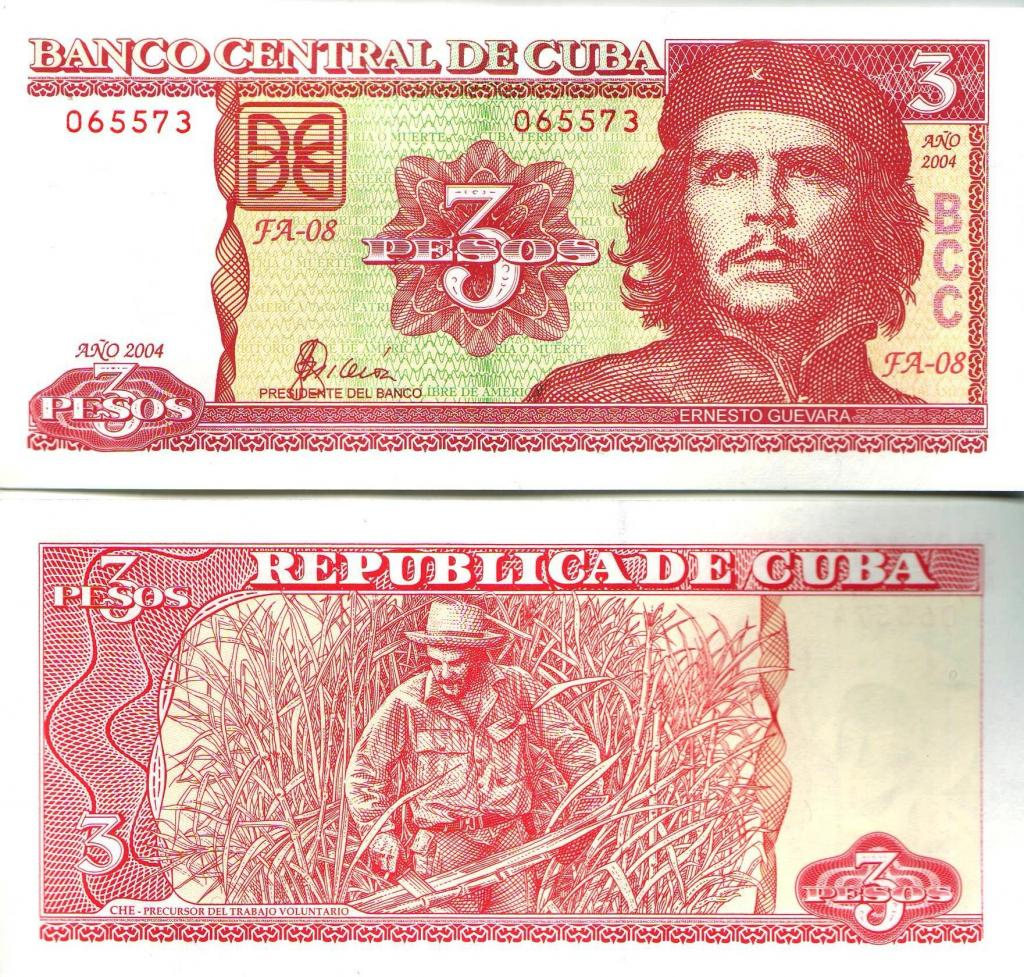 Cuban Three Pesos