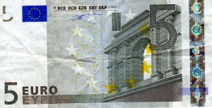 France 5 Euro Note