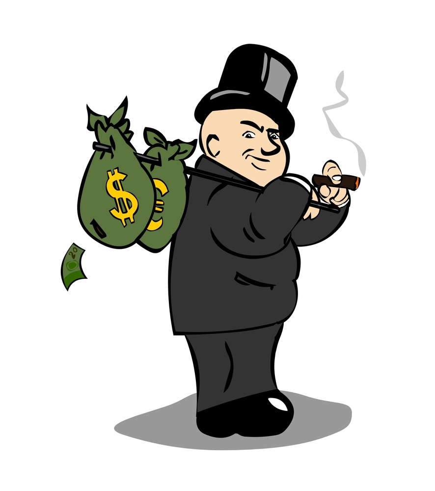 Money Guy Cartoon