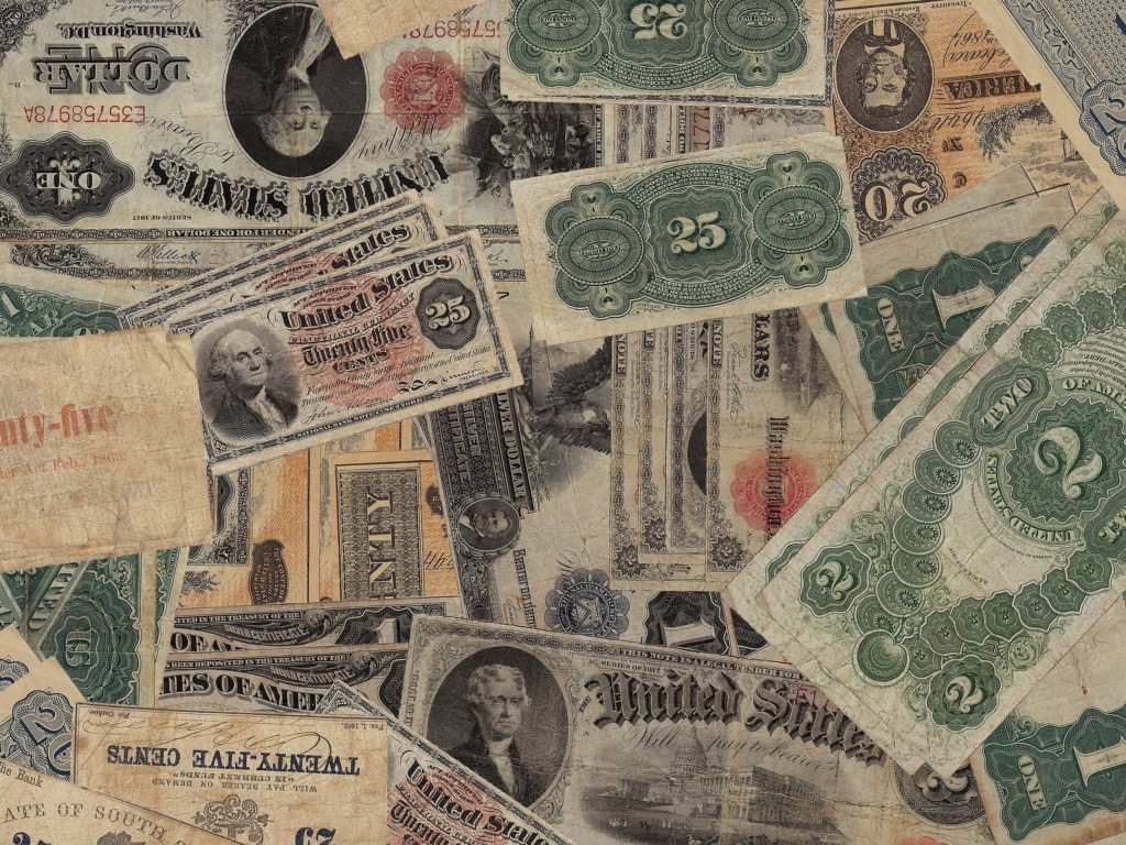 Old American Currency Notes
