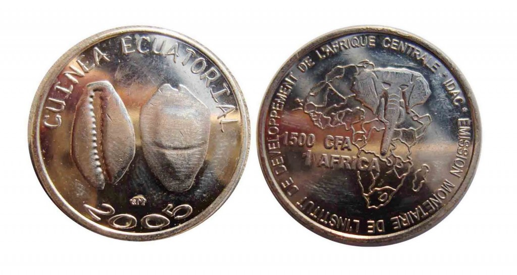 South African Coin 1500 Francs
