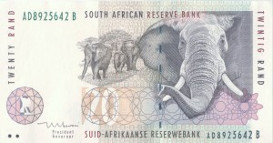 South African Twenty Rand Note