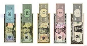 American Monopoly Money Comparison