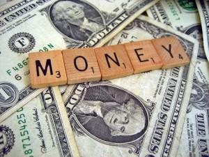 Money Scrabble Pieces