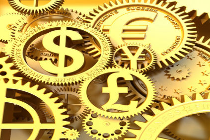 Clockwork money signs