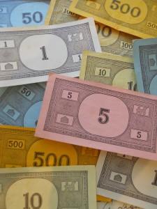 Various Monopoly Money