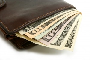 Wallet With American Money