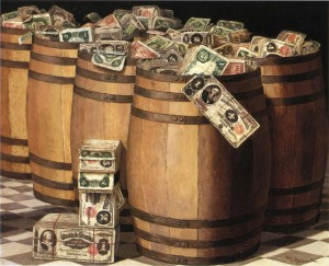Barrels of Money